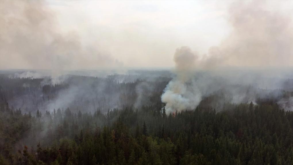 Chuckegg Creek fire