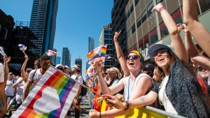 2019 Pride Parade in Toronto