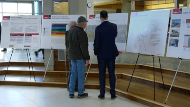 Open house on airport transit study