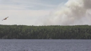 Timmins 2 forest fire near Gogama