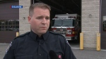 Off-duty firefighter rushes to help man pinned under SUV