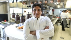 French restaurant Mirazur run by Argentine chef Mauro Colagreco has been named the world's best. (AFP)