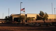 Border Patrol station in Clint, Texas.