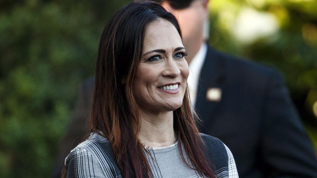 Stephanie Grisham at the White House