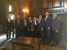 Mayors meet at Willistead