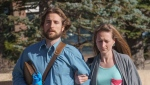 David Stephan and his wife Collet Stephan arrive at court on March 10, 2016 in Lethbridge, Alta. THE CANADIAN PRESS/David Rossiter