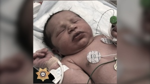 Baby India is seen in this image. (Forsyth County Sheriff's Office/Facebook)