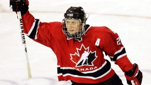 Wickenheiser going into the Hockey Hall of Fame
