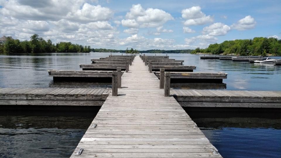 The docks at the Muskoka Wharf are undergoing a full assessment. (Town of Gravenhurst)
