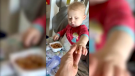 Taber toddler battling leukemia