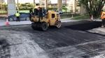 pothole paving