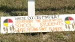 Ceremony honours lives lost in residential school