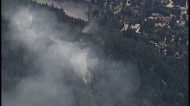 Wildfire continues to burn on Sunshine Coast