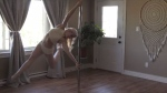 """""""I'm always careful when I talk about what I do, because if I call it pole-dancing, I often feel that right away people's minds just go to the wrong place,"""" said Christine Johnson."""