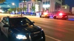 A man was taken to hospital after a stabbing on Tuesday evening. (Sean Amato/CTV News Edmonton)