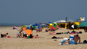 Europeans are set to bake in what forecasters are warning will likely be record-breaking temperatures for June. (AFP)