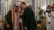 Mike Pompeo and King Salman