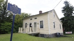 The birthplace of Abner Doubleday in Ballston Spa, N.Y., seen on Aug. 27, 2014. (Mike Groll / AP)