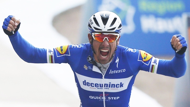 Philippe Gilbert wins Paris-Roubaix 2019