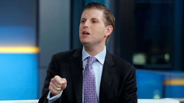 Eric Trump says Chicago restaurant employee spit on him