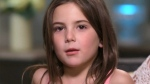 7-year-old 'Avengers' star speaks out after online