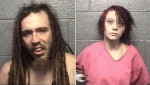 27-year-old Eugene Chandler Jr. and 26-year-old Shaleigh Brumfield are seen in this handout photo. (Danville Police)