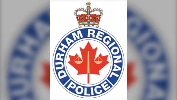 Durham Regional Police's logo is seen in this image.