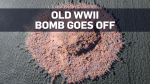 Unexploded WWII bomb suddenly detonates in Germany