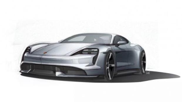 Porsche teases Taycan
