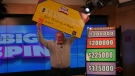 Earl Browning of Fergus won $175,000 in the OLG's THE BIG SPIN. (Courtesy: OLG)