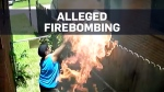 Caught on camera: Woman allegedly firebombs neighb