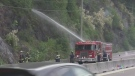 Wildfire update: Evacuation alert lifted