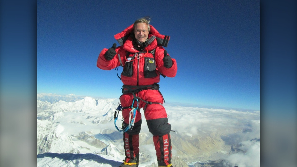 Horacio Galanti climbed Mount Everest for the first time in 2013 via the south route. (Courtesy: Horacio Galanti)