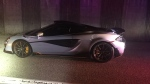 West Vancouver police say the driver of this 2019 McLaren 600LT supercar only had his car 10 minutes before it was impounded. (West Vancouver Police Department)