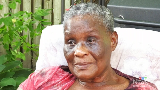 Pamela Prescod said she was left alone on an Air Canada flight.