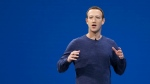In this May 1, 2018, file photo, Facebook CEO Mark Zuckerberg makes the keynote speech at F8, Facebook's developer conference, in San Jose, Calif. (AP Photo/Marcio Jose Sanchez, File)