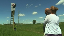 Roadside memorial unveiled near Lorette