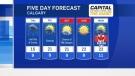 Calgary forecast for June 26, 2019