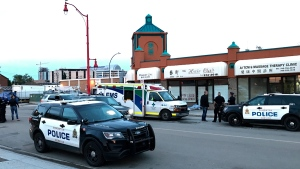 "A death, ""possibly suspicious,"" is under investigation in downtown Edmonton Wednesday night."