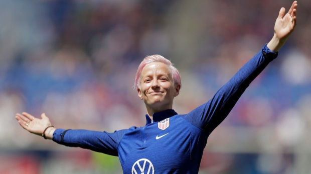 Rapinoe stands by statement about not going to White House