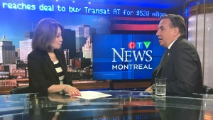 CTV Montreal: Legault in interview