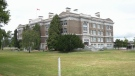Victoria High School will get a new seismic upgrade that maintains the building's historic facade, the province announced Thurs., June 27, 2019. (CTV Vancouver Island)