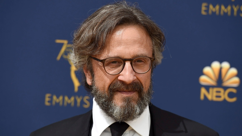 Marc Maron arrives at the 70th Primetime Emmy Awards on Monday, Sept. 17, 2018, at the Microsoft Theater in Los Angeles. (Photo by Jordan Strauss/Invision/AP)