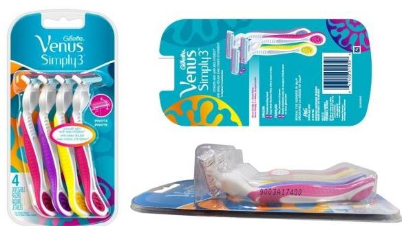 Gillette recalls Venus disposable razors due to 'misalignment' of blades