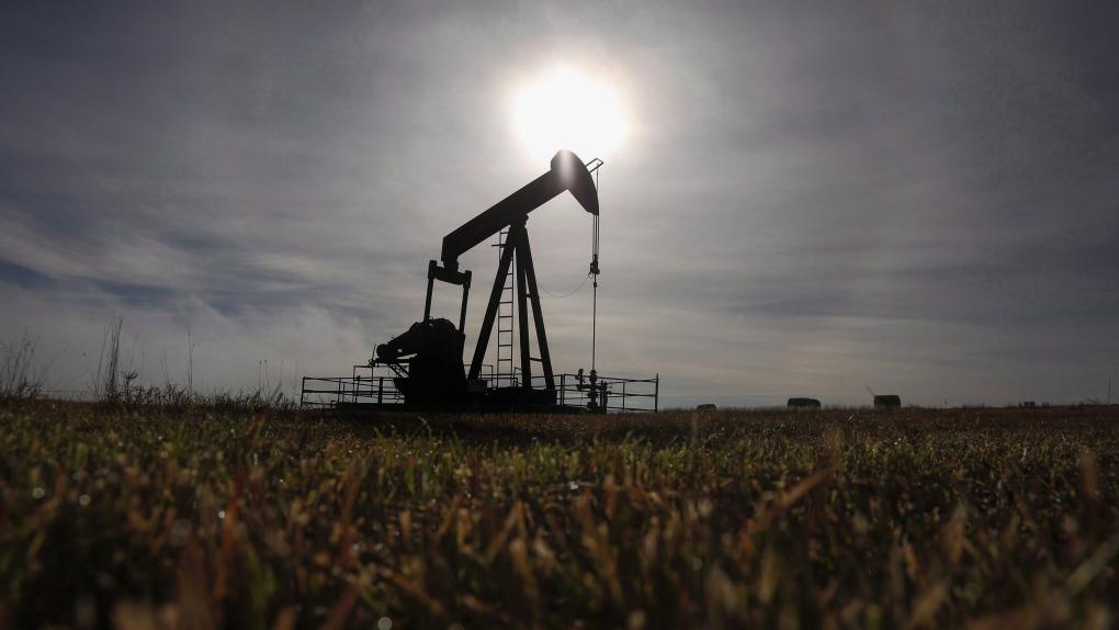 Gas Pumpjack pipeline