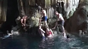 Saturn Cave in Cuba is seen here. A Newfoundland woman says she contracted cave disease after visiting the destination.