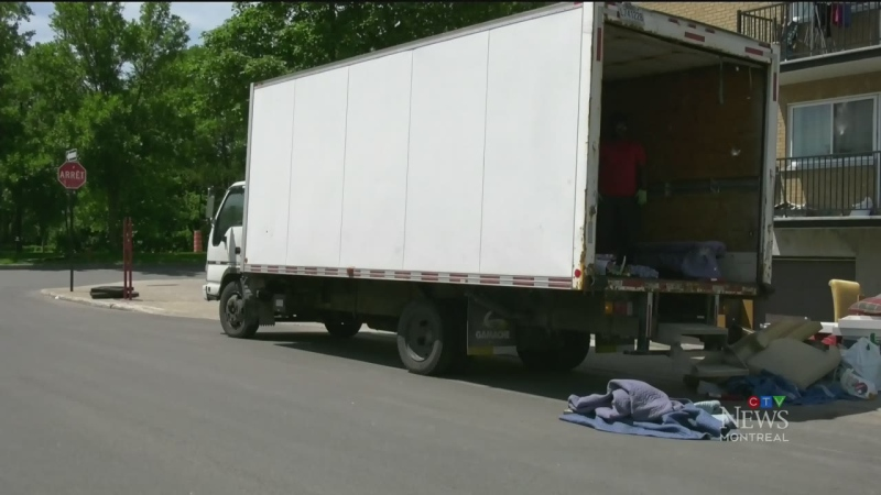 CTV Montreal: Moving Day