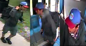 York Regional Police released these stills made from video that show a suspect wanted in connection with a sexual assault in Aurora, Ont., on Monday, June 24, 2019.