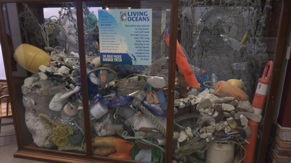 Great Pacific Garbage Patch on display at Maritime Museum