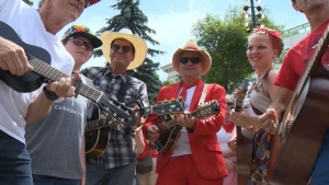 Naheed Nenshi is behind Canada Day celebrations in Calgary this year, calling them an important part of celebrating Canada's freedoms. (File)